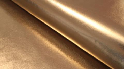Kunstleder gold glänzend - 146 cm kaufen im Makerist Materialshop