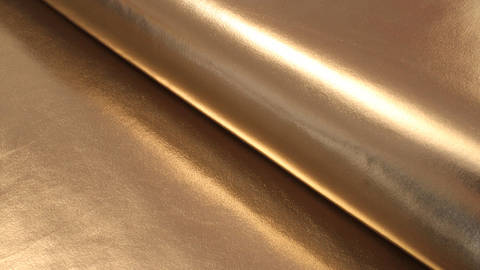 Acheter Tissu jersey métallisé: or brillant - 146 cm dans la mercerie Makerist