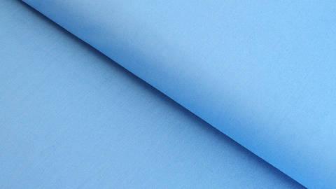 Baumwollstoff himmelblau uni: Heide - 150 cm kaufen im Makerist Materialshop