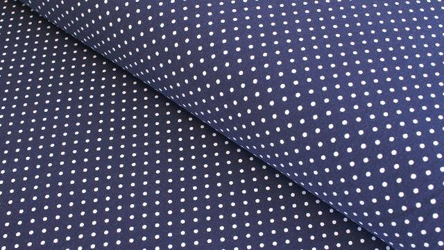Acheter Jersey de coton bleu foncé: Verena - 160cm - Tissus dans la mercerie Makerist