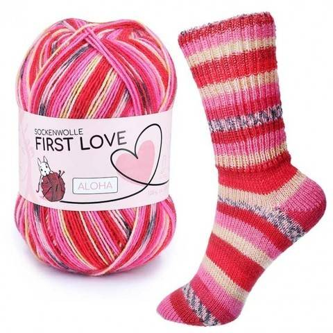 Aloha First Love von CraSy Wolle ca. 410 m 100 g kaufen im Makerist Materialshop