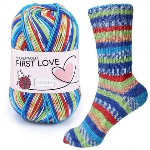 Liebe First Love von CraSy Wolle ca. 410 m 100 g kaufen im Makerist Materialshop