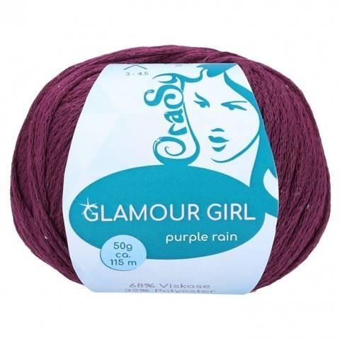 Cablé-Garn purple rain CraSy Wolle ca. 115 m 50 g kaufen im Makerist Materialshop
