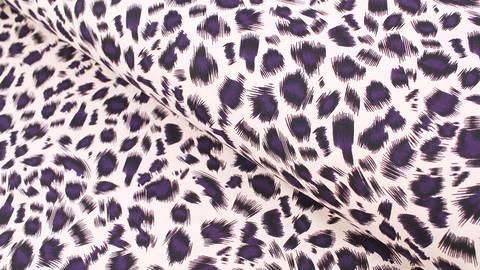 Bademodenstoff sandfarben: Wildes Muster - 155 cm kaufen im Makerist Materialshop
