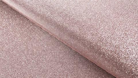 Lurex-Jersey altrosa: Glamour und Glitzer - 140 cm kaufen im Makerist Materialshop