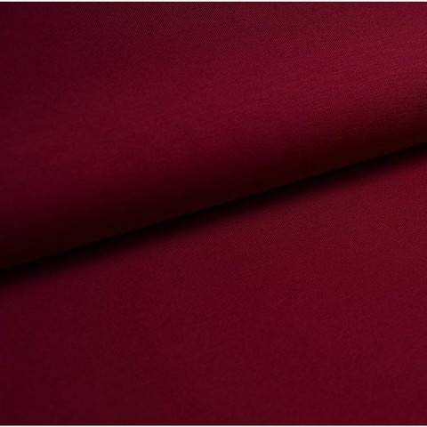 Bündchenstoff Uni: bordeaux - 35 cm kaufen im Makerist Materialshop
