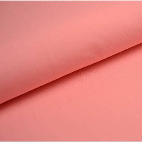 Bündchenstoff Uni: flamingo - 35 cm kaufen im Makerist Materialshop