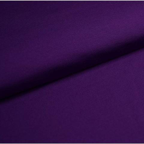 Bündchenstoff Uni: lila - 35 cm kaufen im Makerist Materialshop