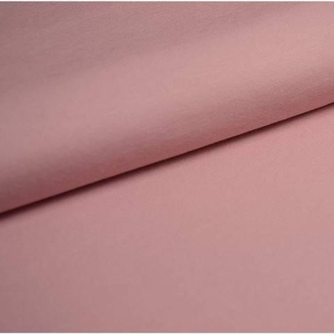 Bündchenstoff Uni: zartrosa - 35 cm kaufen im Makerist Materialshop