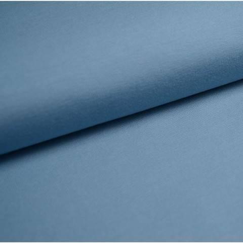 Bündchenstoff Uni: taubenblau - 35 cm kaufen im Makerist Materialshop