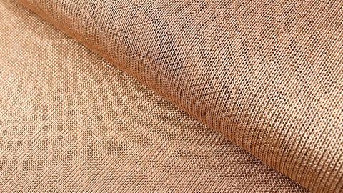 Viskose-Metallstoff bronze elastisch: Kettengeflecht - 150 cm kaufen im Makerist Materialshop