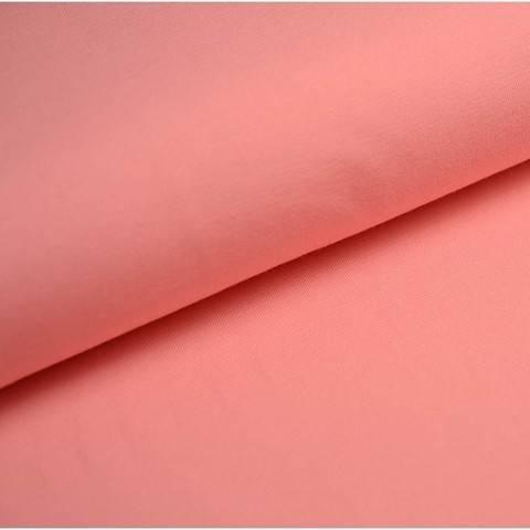 Baumwolljersey Uni: flamingo - 150 cm kaufen im Makerist Materialshop