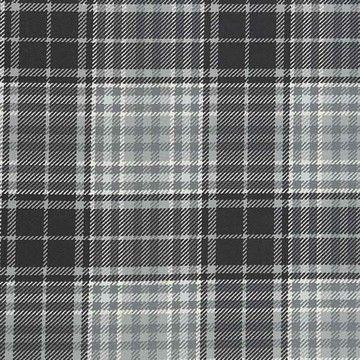 Baumwolljersey grau: Tartan - 150 cm kaufen im Makerist Materialshop