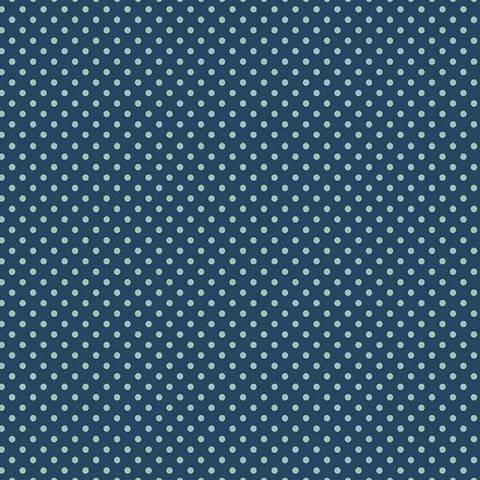 Baumwolljersey petrol/mint: Punkte - 150 cm kaufen im Makerist Materialshop