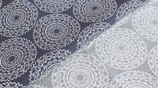 Baumwollstoff: Mandala - 140 cm - Stoffe kaufen im Makerist Materialshop