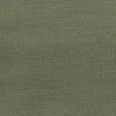 French Terry Uni unaufgeraut - oliv kaufen im Makerist Materialshop