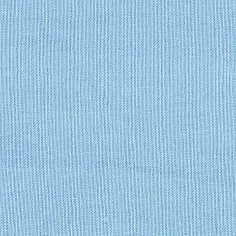French Terry Uni unaufgeraut - taubenblau kaufen im Makerist Materialshop