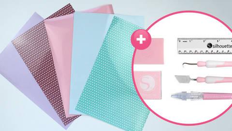 Folienset zum Plotten - Feenzauber inkl. Toolkit im Makerist Materialshop