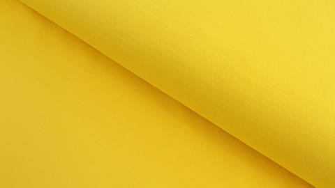 Baumwolljersey gelb uni - 160 cm kaufen im Makerist Materialshop