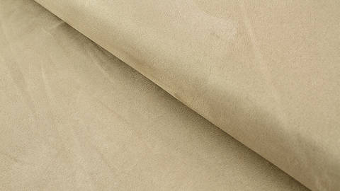 Velours-Lederimitat beige - 150 cm kaufen im Makerist Materialshop