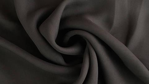 Chiffonstoff schwarz - 150 cm kaufen im Makerist Materialshop