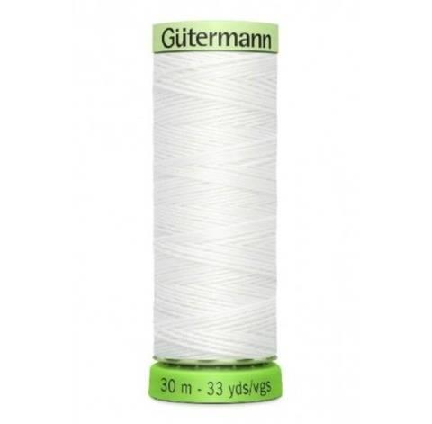 Recycelter Zierstichfaden: rPET - 30 m - 00800 weiß kaufen im Makerist Materialshop