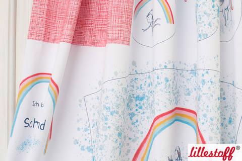 Lillestoff Rapport Bio-Jersey: Schultüte Einhorn - 160 cm kaufen im Makerist Materialshop