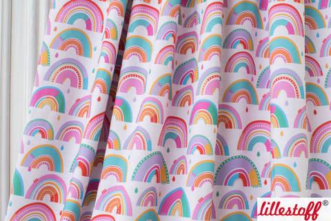 Lillestoff Bio-Jersey: Regenbogen - 160 cm kaufen im Makerist Materialshop