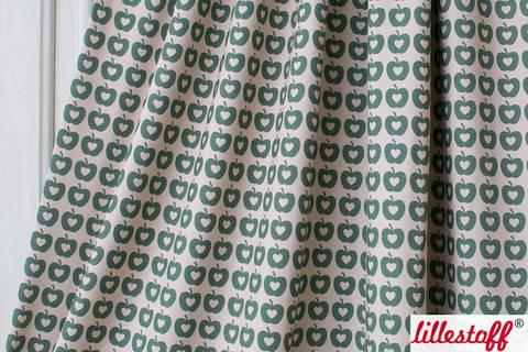 Lillestoff Bio-Jersey: Apple Liefde grün - 160 cm kaufen im Makerist Materialshop