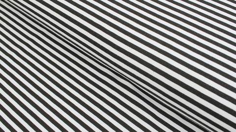 Baumwolljersey schwarz-weiß: Avalana Streifen - 162 cm kaufen im Makerist Materialshop