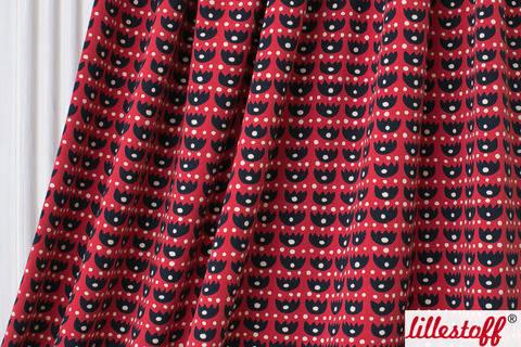 Lillestoff Bio-Jersey rot: Hurray - 160 cm kaufen im Makerist Materialshop