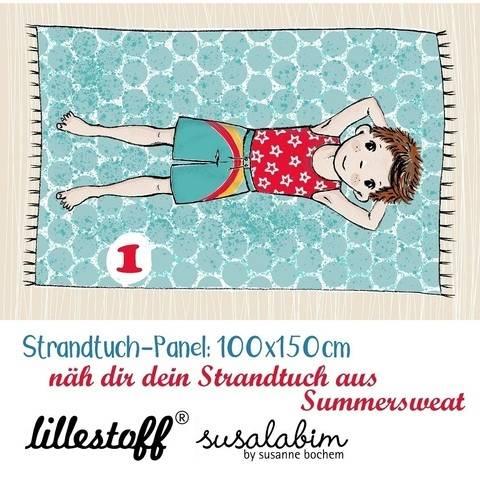 Lillestoff Rapport Bio-Summersweat: Strandtuch Junge 1 - 150 cm kaufen im Makerist Materialshop