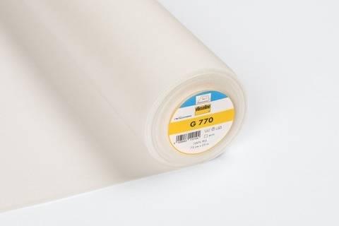 Vlieseline Gewebeeinlage ecru: G770 fixierbar - 75 cm kaufen im Makerist Materialshop