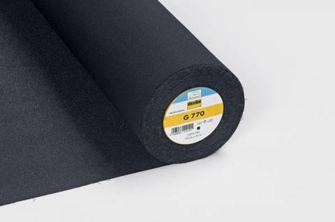 Vlieseline Gewebeeinlage schwarz: G770 fixierbar - 75 cm kaufen im Makerist Materialshop