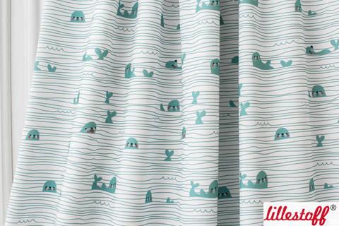Lillestoff Bio-Jersey: Stripy Seals - 160 cm kaufen im Makerist Materialshop