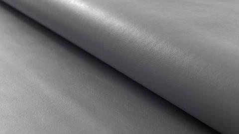 Graues Kunstleder:  Alloway - 140 cm kaufen im Makerist Materialshop