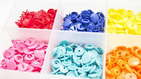 Druckknöpfe KAM Snaps T5 glänzend von Snaply 25 Stk. kaufen im Makerist Materialshop