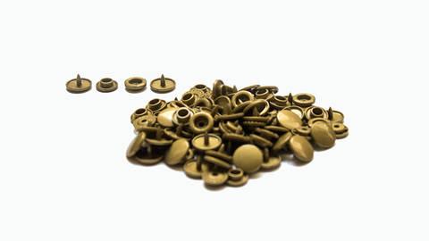 Druckknöpfe KAM Snaps T5 glänzend von Snaply 25 Stk. - B11 gold kaufen im Makerist Materialshop