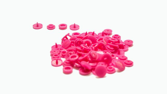 Druckknöpfe KAM Snaps T5 glänzend von Snaply 25 Stk. - B47 pink - Kurzwaren und Zubehör kaufen im Makerist Materialshop