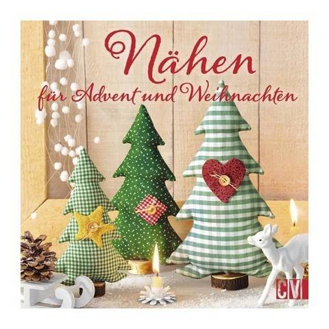 Nähen für Advent und Weihnachten - Buch kaufen im Makerist Materialshop