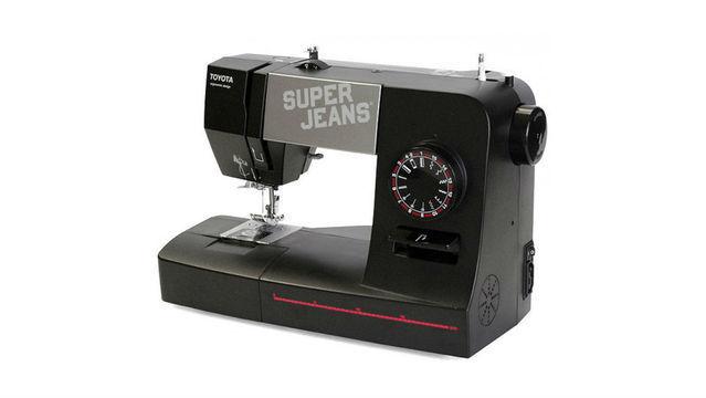 Toyota SuperJ15 SUPER JEANS - Nähmaschine - Nähmaschinen kaufen im Makerist Materialshop
