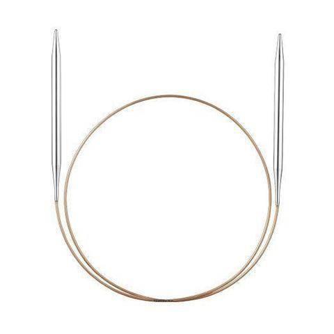 Rundstricknadel Basic Metall 100cm von addi kaufen im Makerist Materialshop