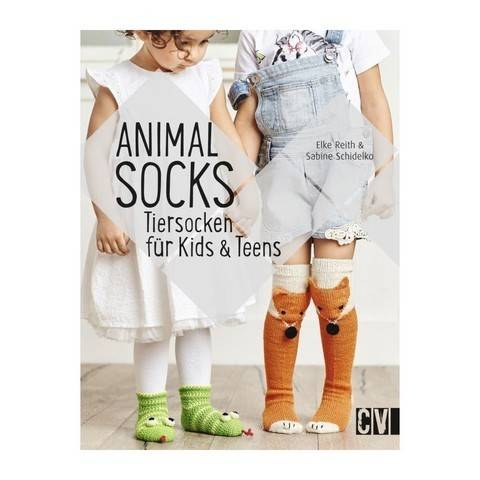 Animal Socks - Tiersocken für Kids & Teens - Buch kaufen im Makerist Materialshop