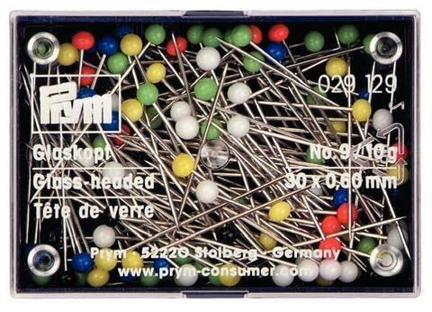 Glaskopfstecknadeln 30 x 0,60 mm von Prym kaufen im Makerist Materialshop