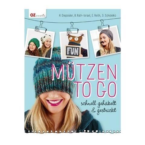Mützen to go - Schnell gehäkelt und gestrickt - Buch kaufen im Makerist Materialshop