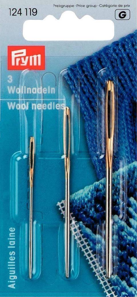 Woll- und Smyrna-Nadeln ohne Spitze von Prym kaufen im Makerist Materialshop