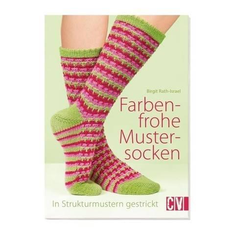Stricken Farbenfrohe Mustersocken - Buch kaufen im Makerist Materialshop