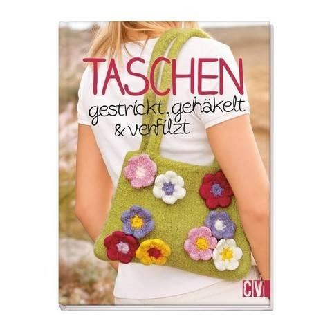 Taschen gestrickt, gehäkelt & verfilzt - Buch kaufen im Makerist Materialshop