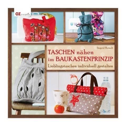 Taschen nähen im Baukastenprinzip - Buch kaufen im Makerist Materialshop