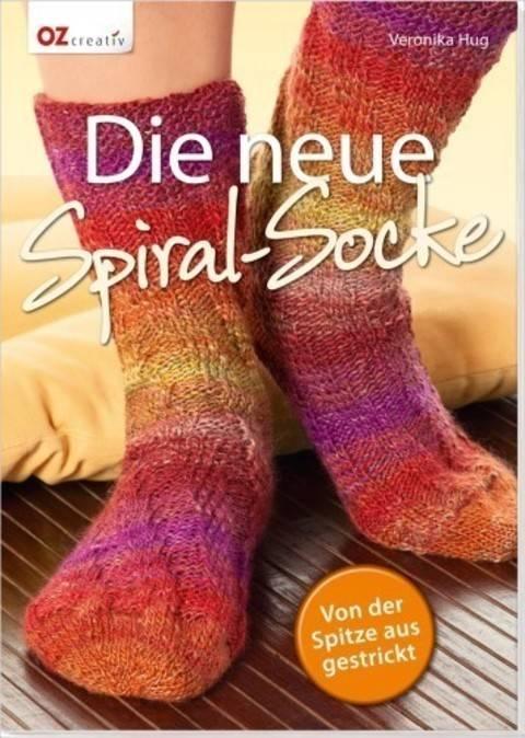 Die neue Spiral-Socke - Von der Spitze aus gestrickt - Buch kaufen im Makerist Materialshop